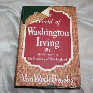 Vintage book World of Washington Irving 1944